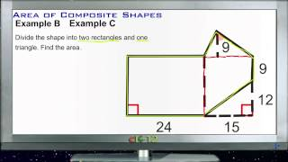 Area of Composite Shapes: Examples (Basic Geometry Concepts)