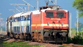 99 in 1 !! INDIAN RAILWAYS TRAIN VIDEOS  MeGA CoMPILATION !
