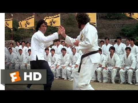 Enter the Dragon (1/3) Movie CLIP - Lee vs. O'Hara (1973) HD
