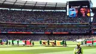 2015 ICC Cricket World Cup Final - Aus v NZ - Anthems width=