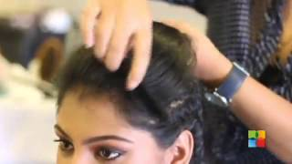getlinkyoutube.com-How to do Bow Hairstyle with Front Poof