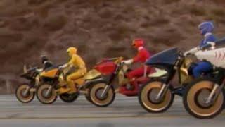 getlinkyoutube.com-Power Ranger Fuerza Salvage | Los Rangers consiguen los nuevos Savage Cycles