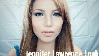 getlinkyoutube.com-Jennifer Lawrence Make-up Transformation
