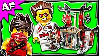getlinkyoutube.com-Lego Ninjago DOJO SHOWDOWN 70756 Anacondrai Jungle Stop Motion Build Review