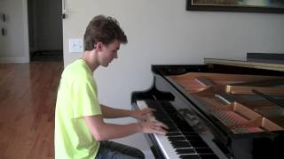 getlinkyoutube.com-Pentatonix: On My Way Home (Elliott Spenner Piano Cover)