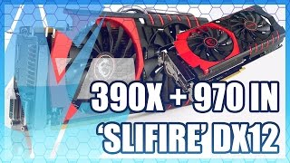 getlinkyoutube.com-SLIFIRE: 390X + GTX 970 in DirectX 12 Benchmark