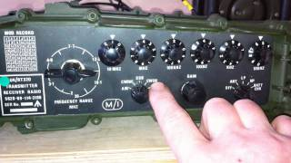 getlinkyoutube.com-The Clansman PRC-320 - Plessey RT-320 Military Manpack Transciever [HD] - M0VST