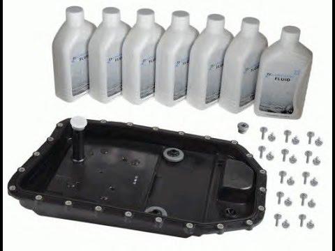 Замена масла в АКПП ZF 6HP26 BMW ... 730D