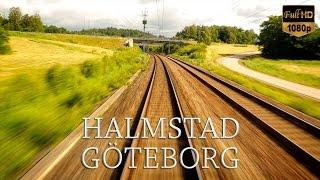 getlinkyoutube.com-Train Driver's View: Halmstad to Göteborg