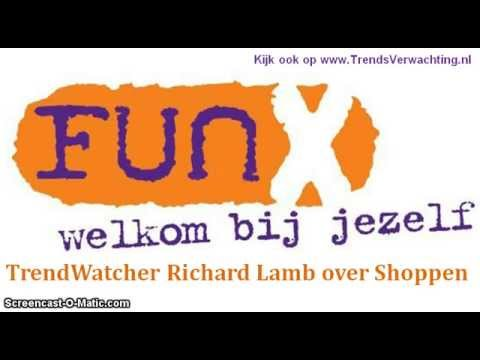 RichardLamb bij FunX over Shoppen