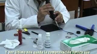 getlinkyoutube.com-La Fibra Óptica: MONTAJE DE UN CONECTOR SC