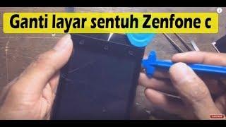 cara mudah ganti touchscreen asus zenfone c
