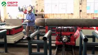 getlinkyoutube.com-Automatic Piping Spool Prefabrication Production Line