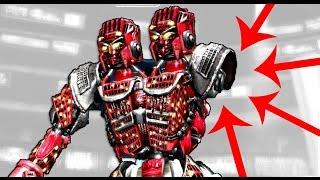getlinkyoutube.com-Real Steel FINAL Bouncer VS Twin Cities (Severed Hand   EPIC) ROBOTS BOXING (Живая сталь) XBOX   PS3