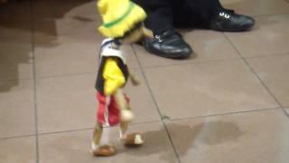 getlinkyoutube.com-Pinocchio Marionette dancing like Michael Jackson