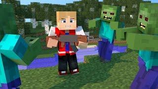 getlinkyoutube.com-Minecraft PE 0.14.0: THE WALKING CRAFT MOD IGUAL DE PC