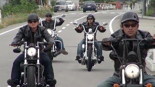 "getlinkyoutube.com-ハーレーチーム ""Deep Stroke"" PV Vol.1 (2012)【Harley-Davidson ツーリング】"