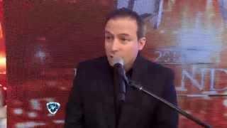 Showmatch 2014 - Comienzo a pura risa: el Maestruli hizo tentar a Tinelli