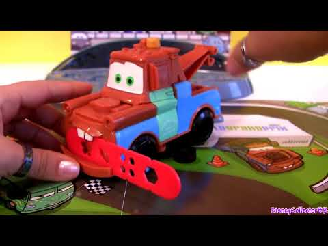 Play-Doh Cars 2 Mold and Go Speedway Playset Disney Pixar Epic Review Mold Build Car-Toys play doh