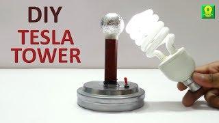 getlinkyoutube.com-How to make Tesla Tower at home