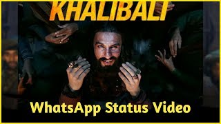 Khali Bali Song || Best WhatsApp Status Video ||Ranveer Singh||