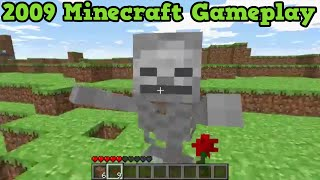 getlinkyoutube.com-Minecraft 2009 Gameplay - Survival Mode 6 Years Ago - 0.24 Gameplay