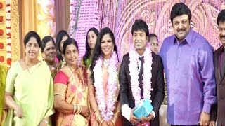 getlinkyoutube.com-Pandiarajan Son Wedding Reception