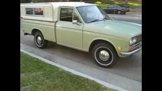 getlinkyoutube.com-1970 Datsun Pickup Walk Around