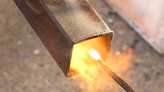 getlinkyoutube.com-Instant light  spraying oil Burner from cheap, off the shelf fittings