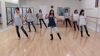 getlinkyoutube.com-Stitches - Line Dance (Dance & Teach)