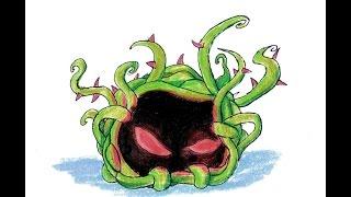Como dibujar Zapalga (plantas vs zombies)   Speed drawing