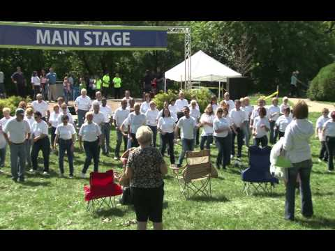 Talmer Bank Flash Mob at 2011 Arts &amp; Apples