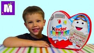 getlinkyoutube.com-Киндерино Спорт набор сюрпризов распаковка Kinder Surprise sat with surprise toys unboxing