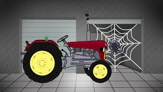 getlinkyoutube.com-Tractor For Children | Agricultural Machinery | Garage | Traktor Konstrukcja