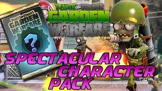 getlinkyoutube.com-Spectacular Character Pack - Plants Vs. Zombies: Garden Warfare