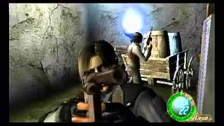 getlinkyoutube.com-Resident evil 4 HACKS PLAYSTATON 2