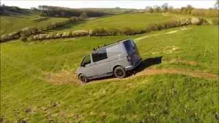getlinkyoutube.com-VW T5 4Motion Vanworx Custom Built A little off road work vid :)