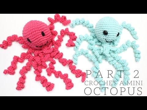 CROCHET: Mini Octopus PART 2   Bella Coco