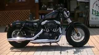 getlinkyoutube.com-本日納車 バリバリ伝説 バリバリ新車 2015 フォーティーエイト XL1200X Harley Davidson Sportster Forty-Eight  2014 ハーレーダビッドソン