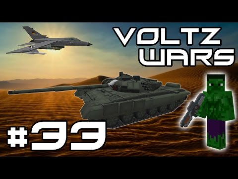 Minecraft Voltz Wars - An Explosive Invasion! #33
