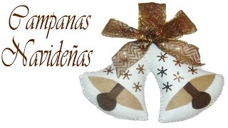 getlinkyoutube.com-Campanas navideñas // Decora tu hogar