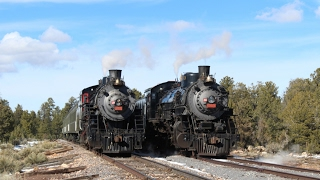 The Citadel of Steam: Grand Canyon Railway Photo Charter 2017