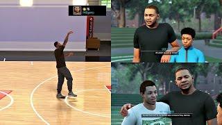 getlinkyoutube.com-NBA 2K16 PS4 MyCAREER - DEADLIEST JUMPER 2.0! Meeting Best Friend + Sister!! Ep. 2