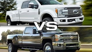 getlinkyoutube.com-2017 Ford F-450 Super Duty vs 2016 Chevrolet Silverado 3500HD