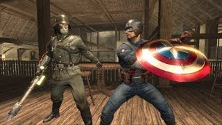 getlinkyoutube.com-First 30 Minutes: Captain America: Super Soldier [XBOX360/PS3/WII] Part 2/2