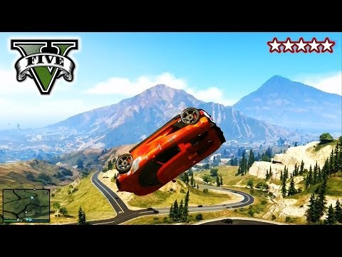 Gta 5 Stunts And Jumps! - Freeroaming With The Crew! - Grand