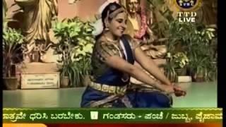 Meghana Venkat Manjula Bharathanatyam 07 Kasthuri Thilakam LeelaSukhaKavi OK