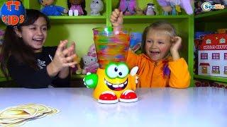 getlinkyoutube.com-ШАРИКИ ОРБИЗ и ЛИЗУНЫ в БЛЕНДЕРЕ Frutti Frutti Kids game ORBEEZ Игры для Детей с Ярославой