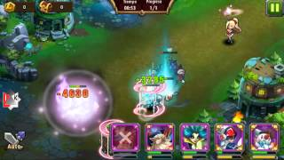 getlinkyoutube.com-Magic Rush : CRUZADA LVL 72  MATANDO LEGENDARIOS !