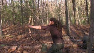 getlinkyoutube.com-Shooting the Samick Sage Takedown Recurve Bow